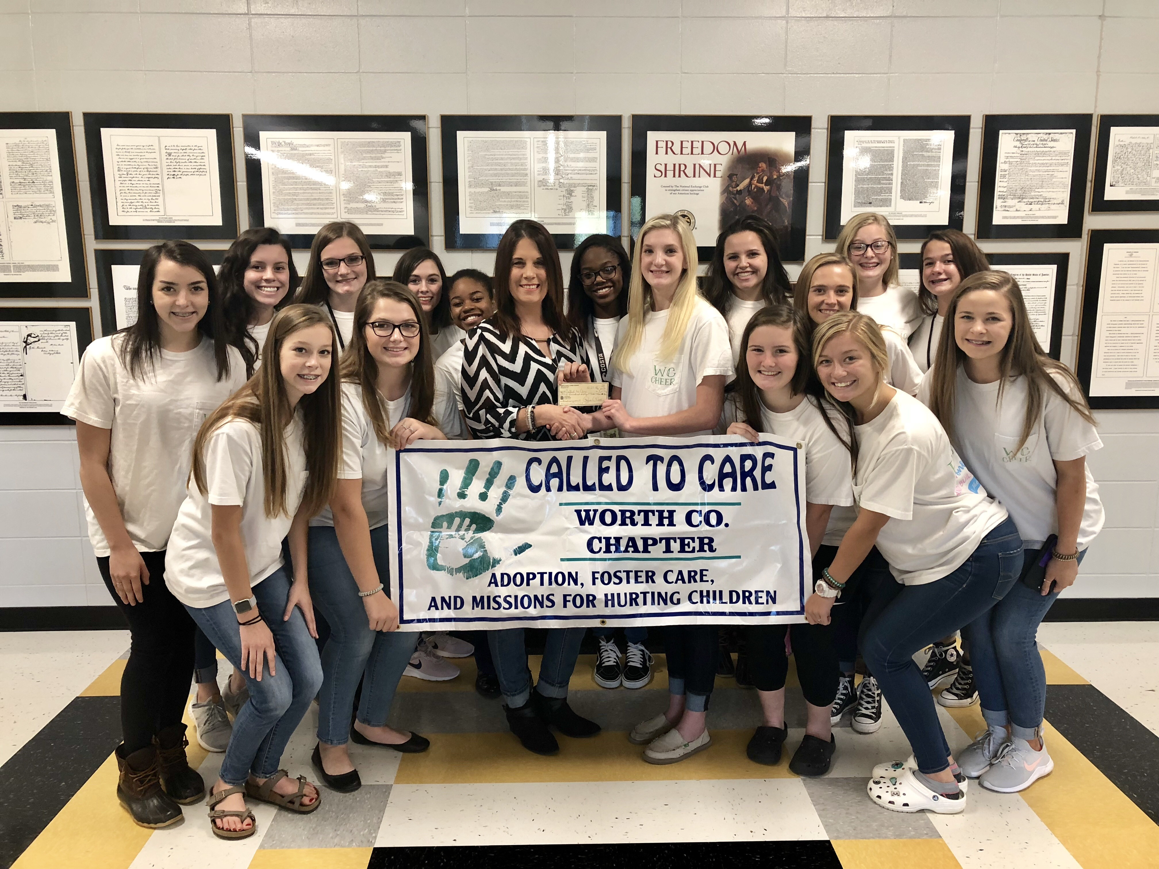 Competition Cheer Called to Care