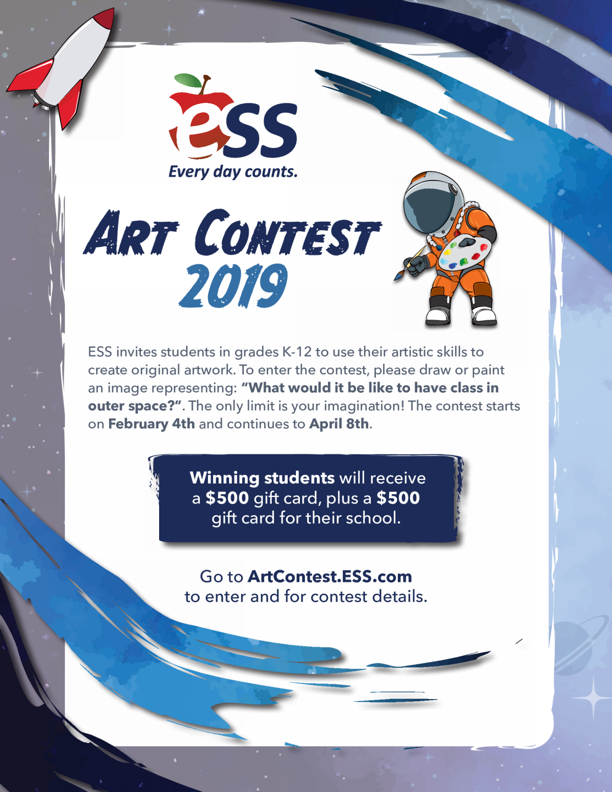 ESS Art Contest Flyer