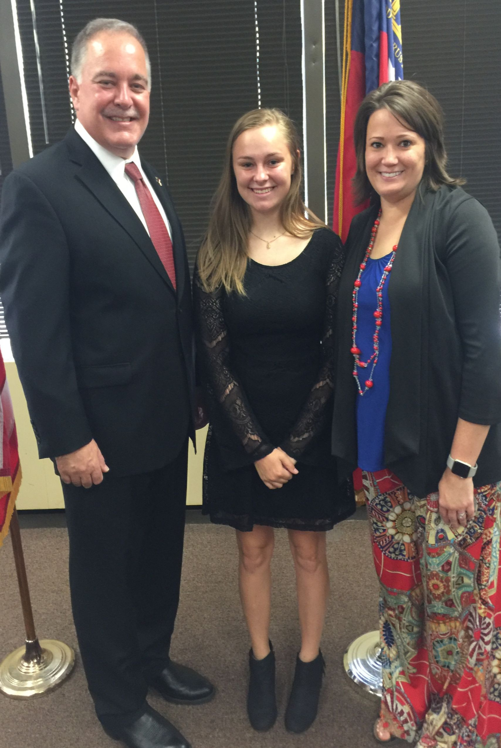 WCHS Student Attends State Superintendent Recognition Ceremony