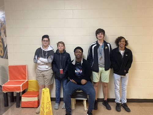 8th grade chair construction project
