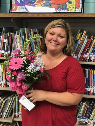 Pam Parten WCMS Teacher of the Year 2020