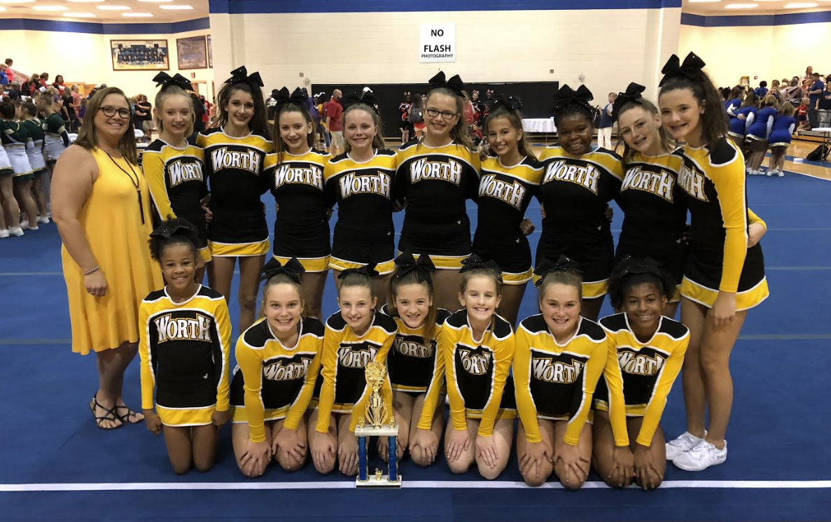 WCMS Competition Cheer Team 2nd Place Raider Rumble
