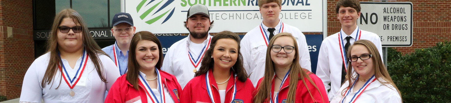 SkillsUSA Brings Home Region Medals