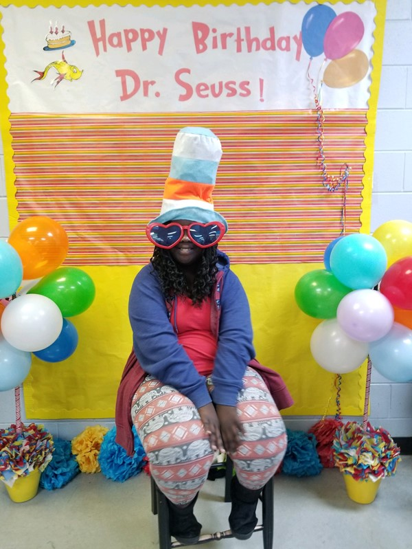 Ms. Suggs' Class - Celebrating Dr. Seuss' Birthday