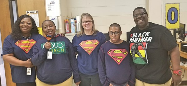 Super Hero Day - Autism Awareness Week