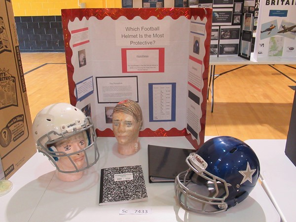 A Social Science Fair project that advanced to the final round and was judged.