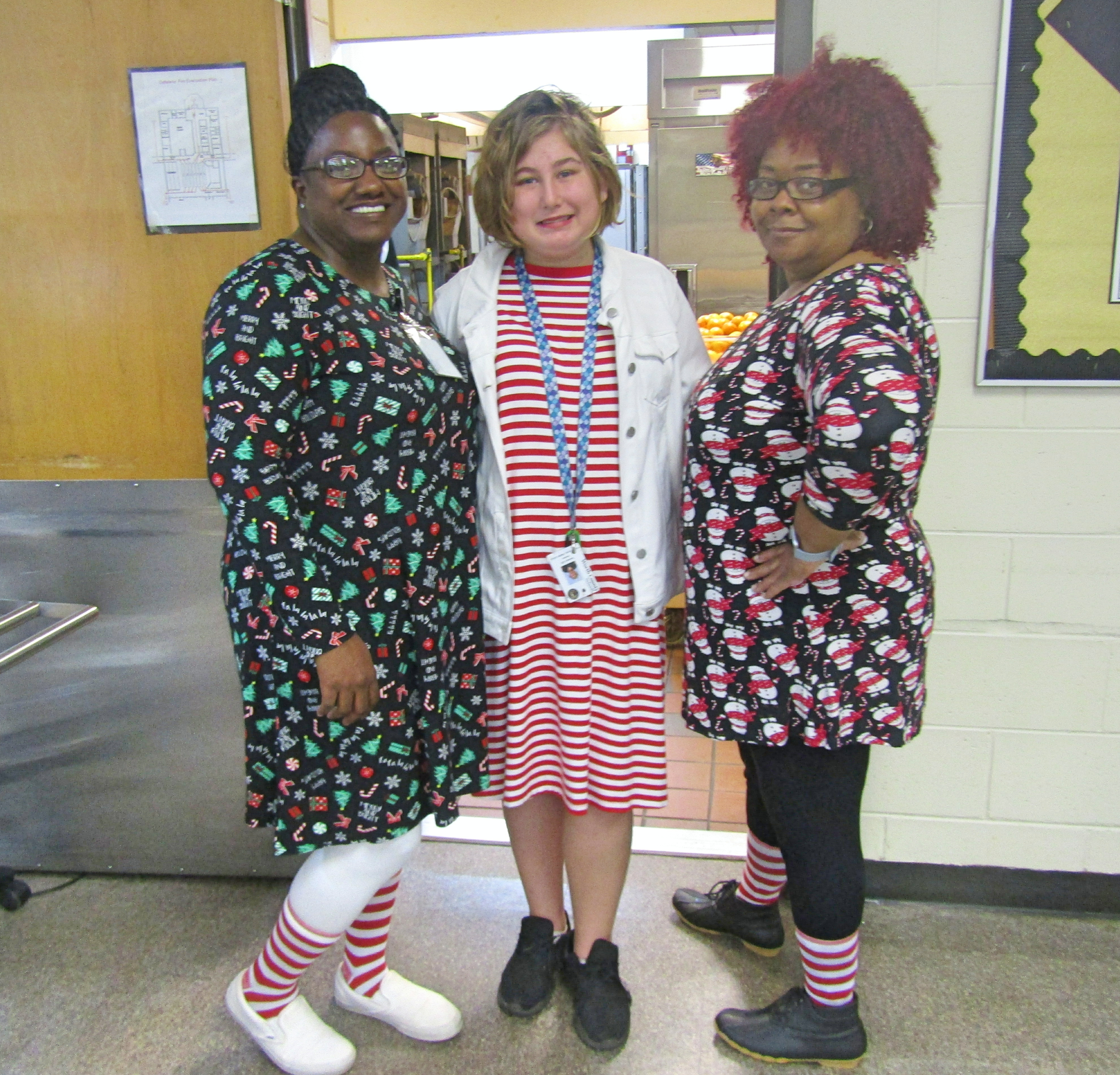 Twelve Days of Christmas - Candy Cane - Wear Red and White (12th day)