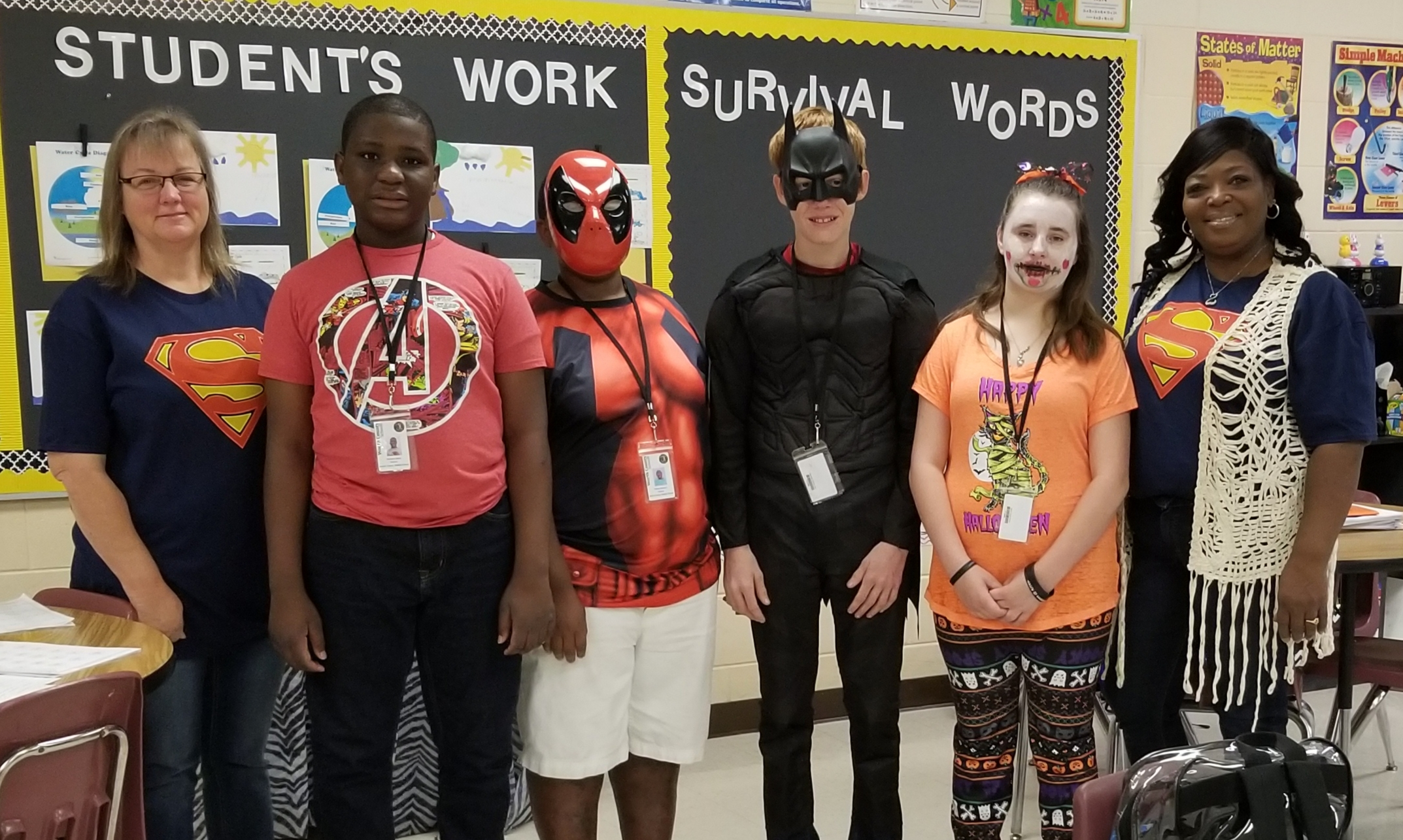 Red Ribbon Week - Wednesday - Real Heroes Don't Do Drugs or Bully - Super Hero Day