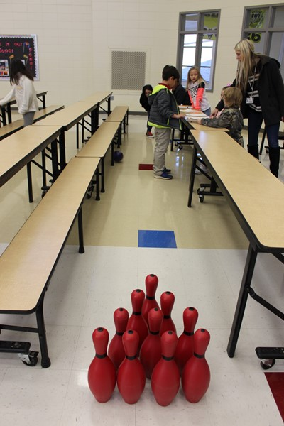 Bowling with Fractions