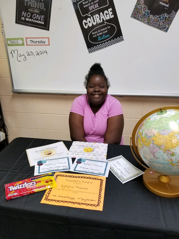 Ms. Suggs' Class~ Awards Day and Ice Cream Social