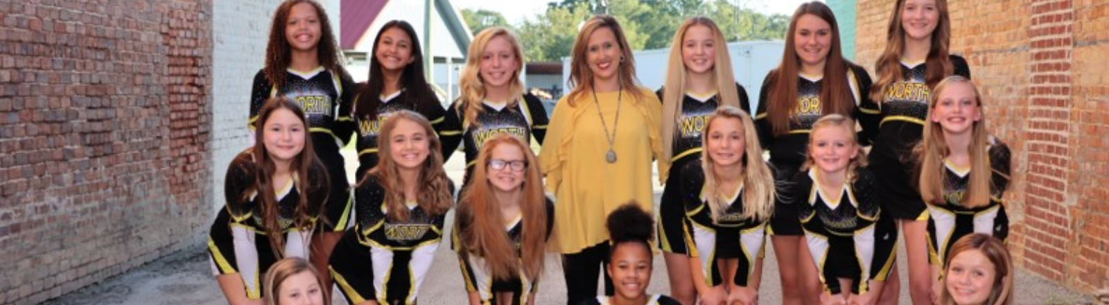 WCMS Competition Cheerleaders