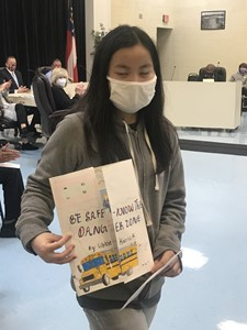 Libbie Karrick 3rd Place Bus Safety Poster Contest