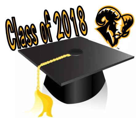 Class of 2018 Cap and Ram icon