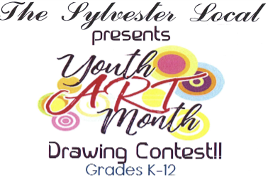 The Sylvester Local Youth Art Month Drawing Contest