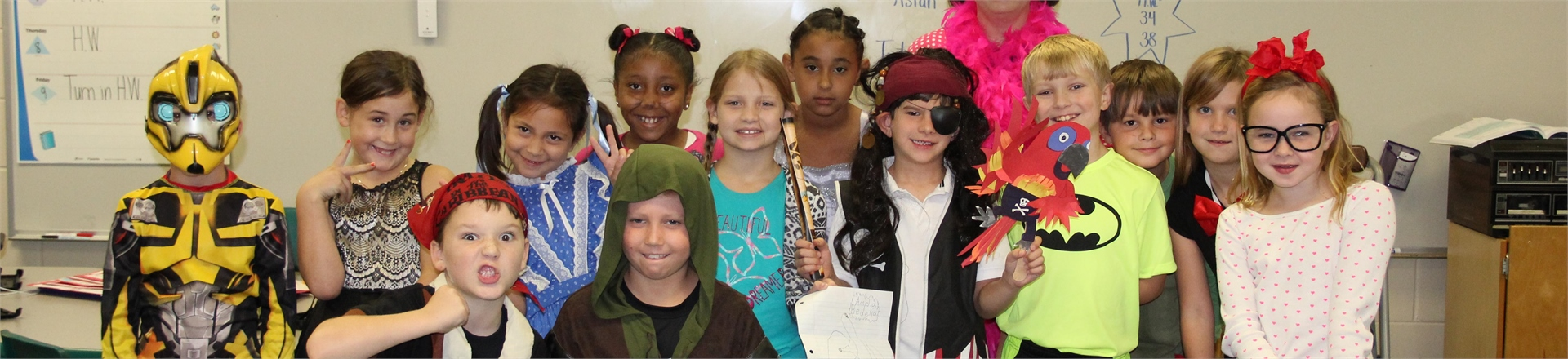 Little Lambs have RAMS Spirit! - Character Day