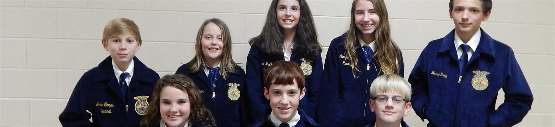 Connecting with the future - FFA Officers