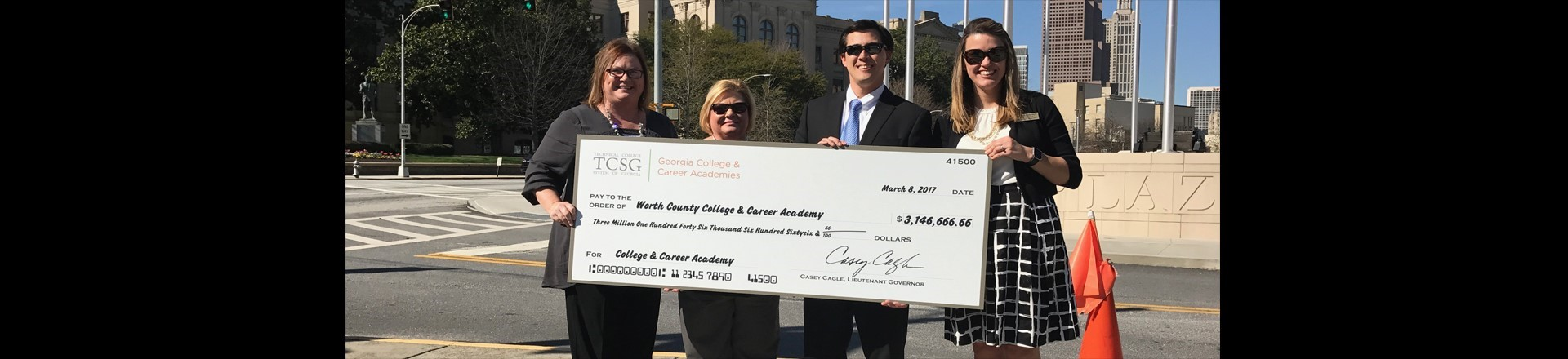 WCHS receives over $3 million for College & Career Academy grant!