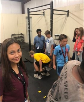 WCMS Students Participate in STEM Space Project